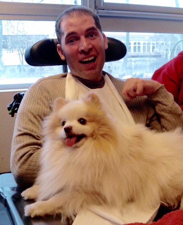 terapia con perros, discapacidad intelectual